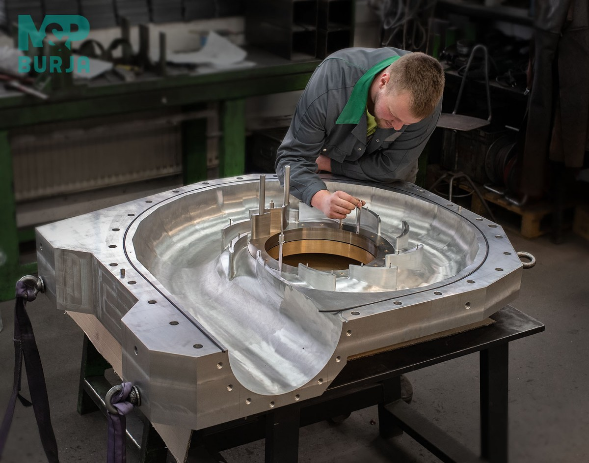 Modellturbinen für das Wasserkraftwerk Jumisko.