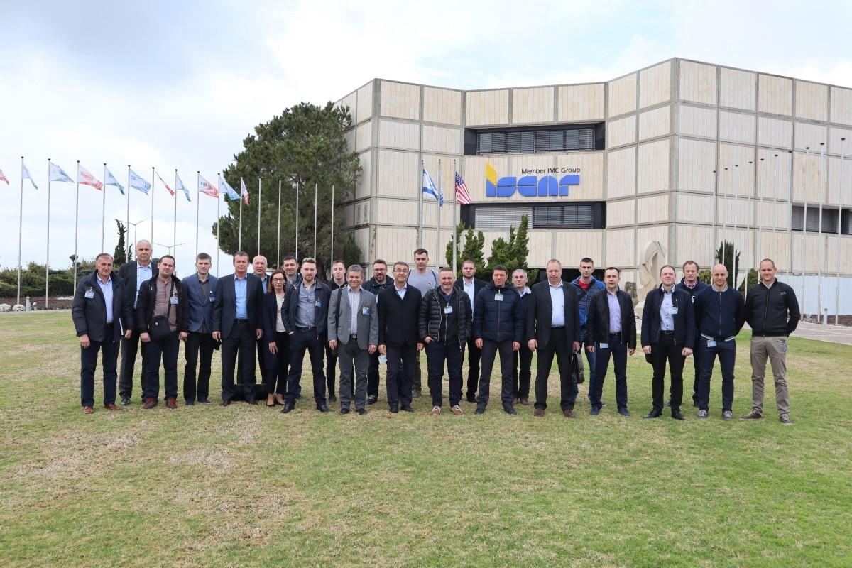 Besuch der Firma Iscar in Israel